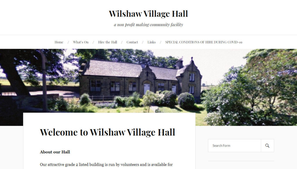 Wilshaw Village Hall